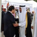 Президент Египта Абдель Фатта аль-Сиси посетил Саудовскую Аравию