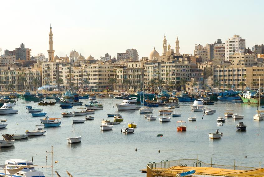 Александрия, Египет.