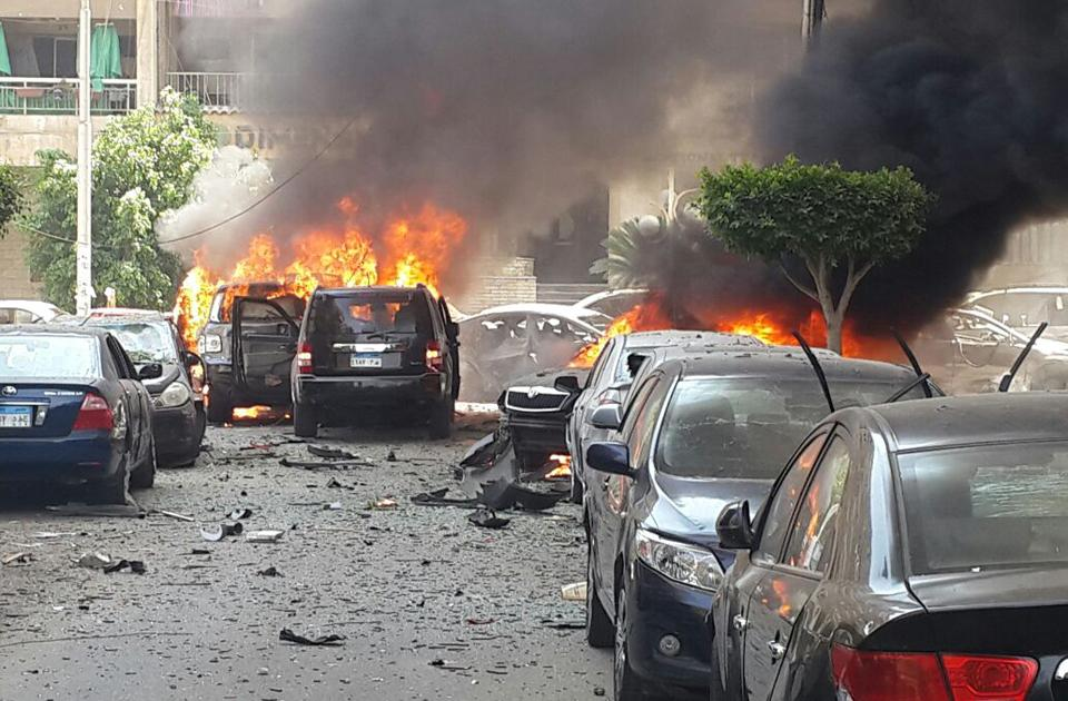Гелиополис. Место убийства генерального прокурора Египта Хишама Бараката