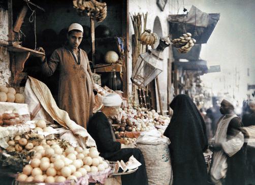 Египетская улица. Торговля.