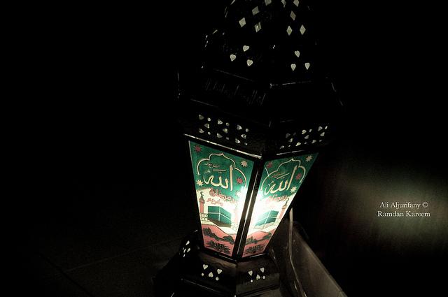 Праздничный фонарик фанус.