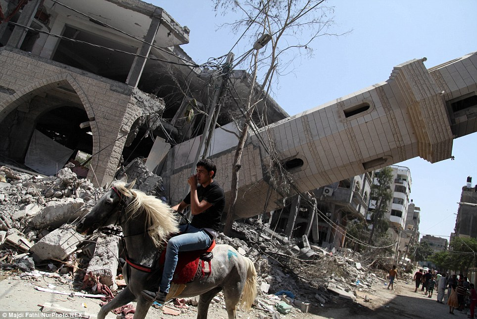 Палестина - страна огненных ватников
