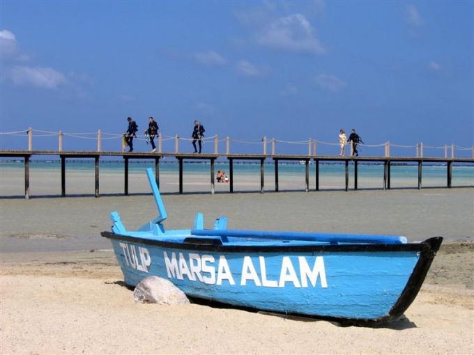 Марса Алам, курортный город в Египте.