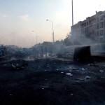 Взрыв автомобиля в городе 6 Октября, трое погибших