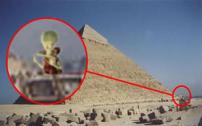 Пришельцы снова прилетают в Египет