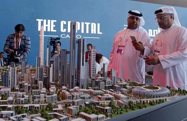 Новую столицу Египта посетили инвесторы-годзиллы.