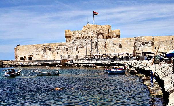 Цитадель султана Кайт-бея.