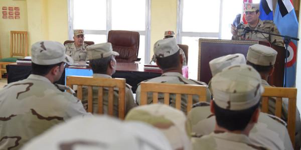 Военный совет в Северном Синае.