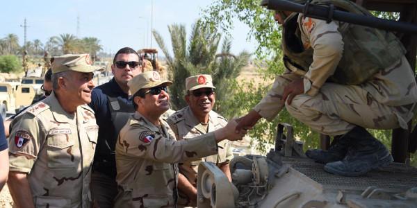 Северный Синай, встреча с бойцами.