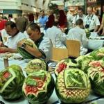 Завтра в Хургаде пройдет фестиваль резьбы по арбузам