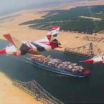 При строительстве Нового Суэцкого канала было использовано ¾ всех земснарядов