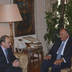На встрече Богданова и Самеха Шукри Россия и Египет согласовали позиции по сирийскому вопросу