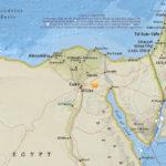 В Египте произошло небольшое землетрясение