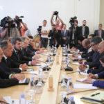 Египетский и российский министры снова отметили, подчеркнули и констатировали
