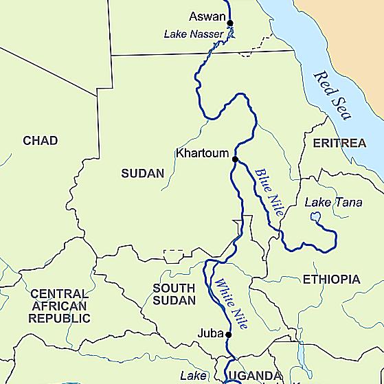 Нил: Голубой и Белый